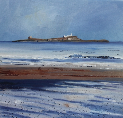 Walk from Alnmouth to Bamburgh - Farne Islands